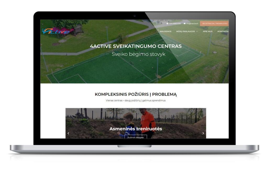 Sveikatingumo centro internetinė svetainė